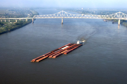 Accidents in Kenner, LA can have many causes - whether a car accident, medical malpractice case, or an accident related to maritime commerce on the Mississippi River or the Gulf. For example, boats, tugs, and other vessels on the Mississippi, like the one here, can be invovled in collisions where injuries and property damage result. Call a Kenner personal injury lawyer today to represent you in your claims.